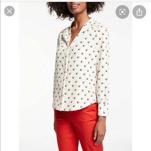 Boden olive blouse